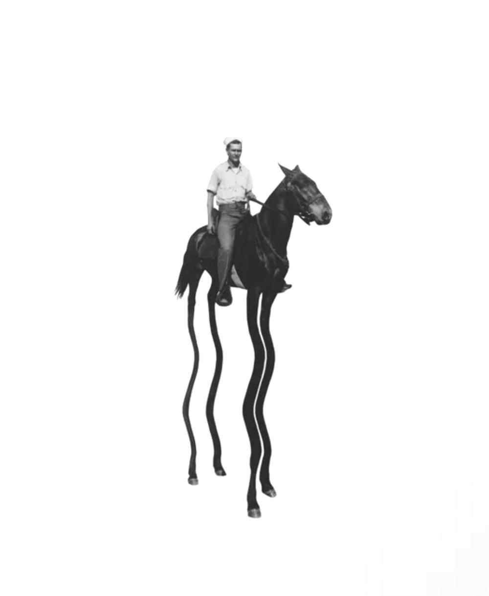 Tall Horse, $76  —Richard Vergez, Society6