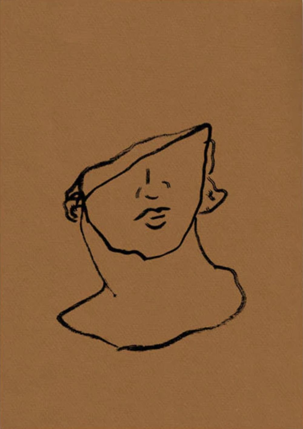 Broken Bust on Copper, $99  —Kate Arends, Wit & Delight