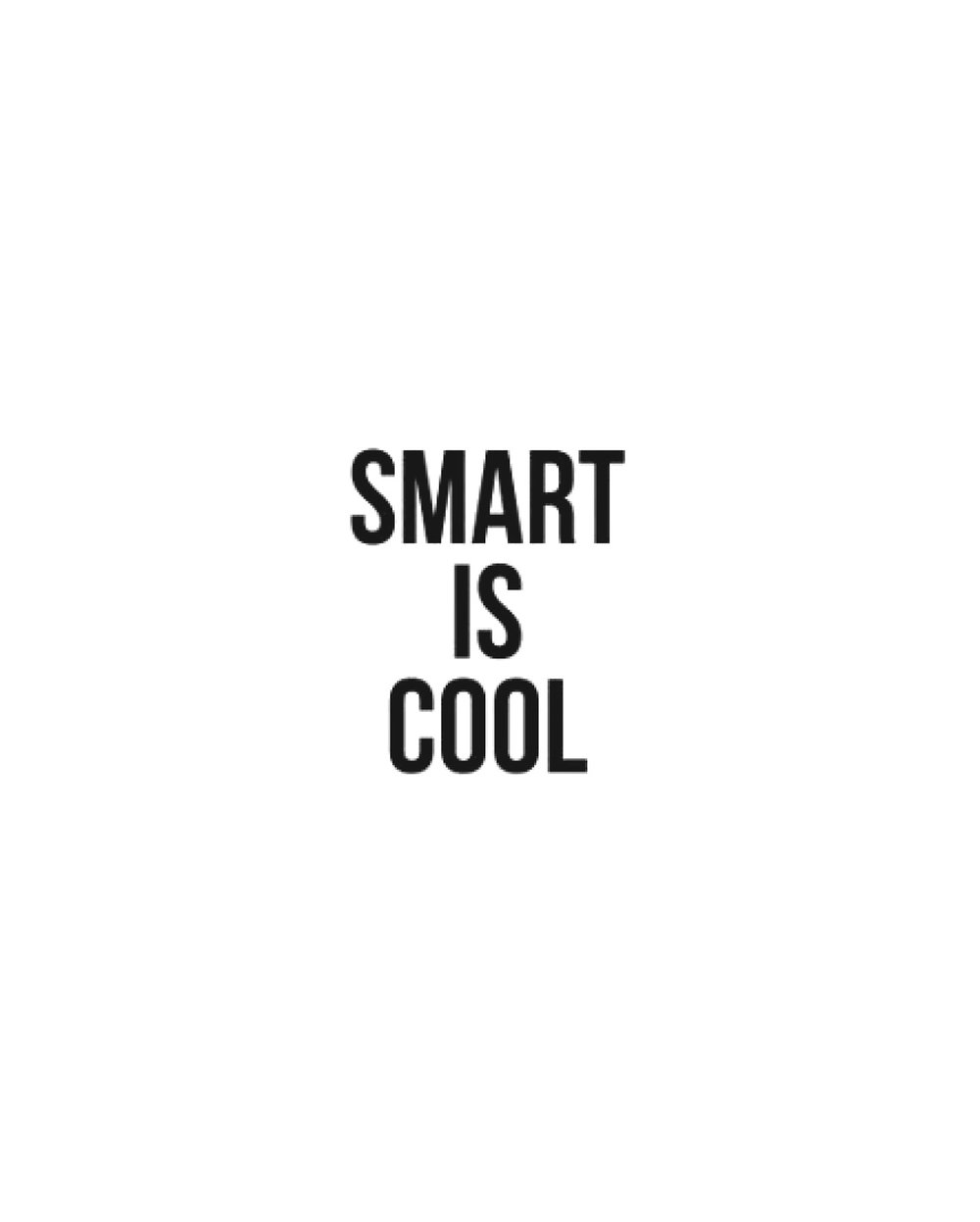 Smart is Cool, $129  —Cult Paper, Urban Outfitters