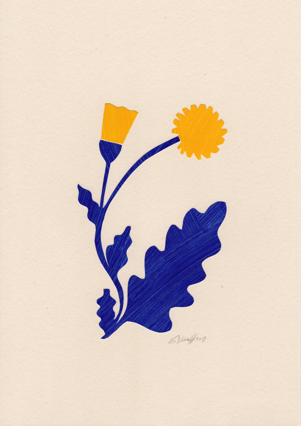 Sunrise, €375 (original)  —B.D. Graft
