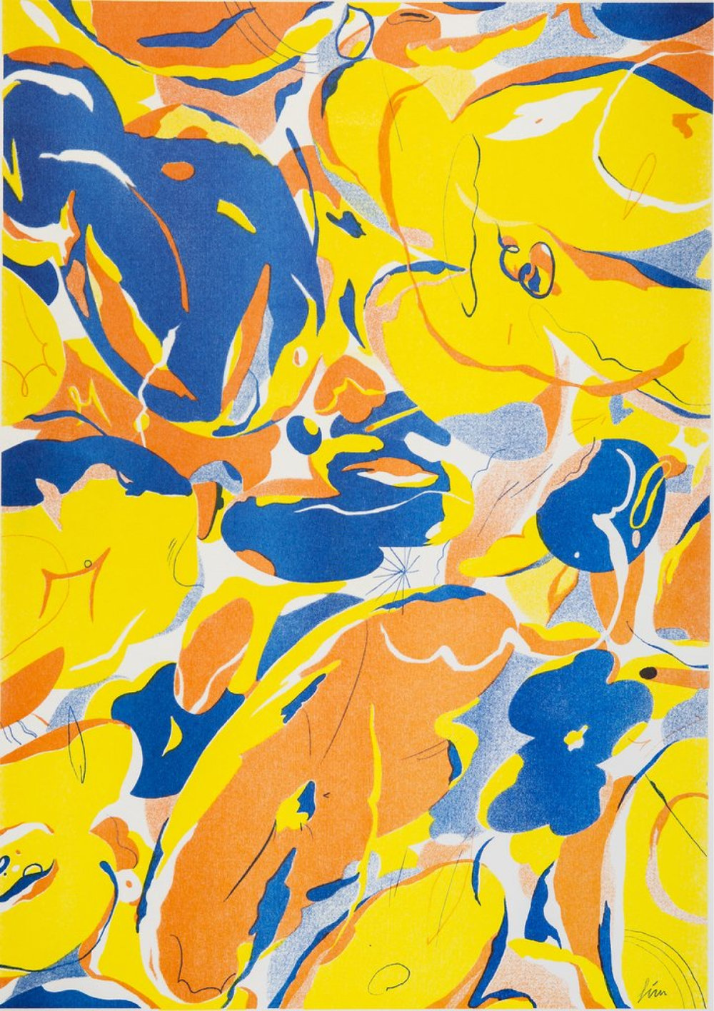 Abstract Flowers, £25  — Gizem Vural, Yuck Print House