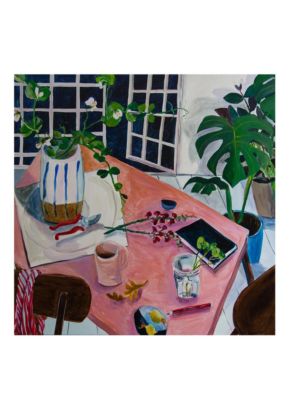 Sweet Peas and Studio Table, $110  —Elizabeth Barnett, Modern Times