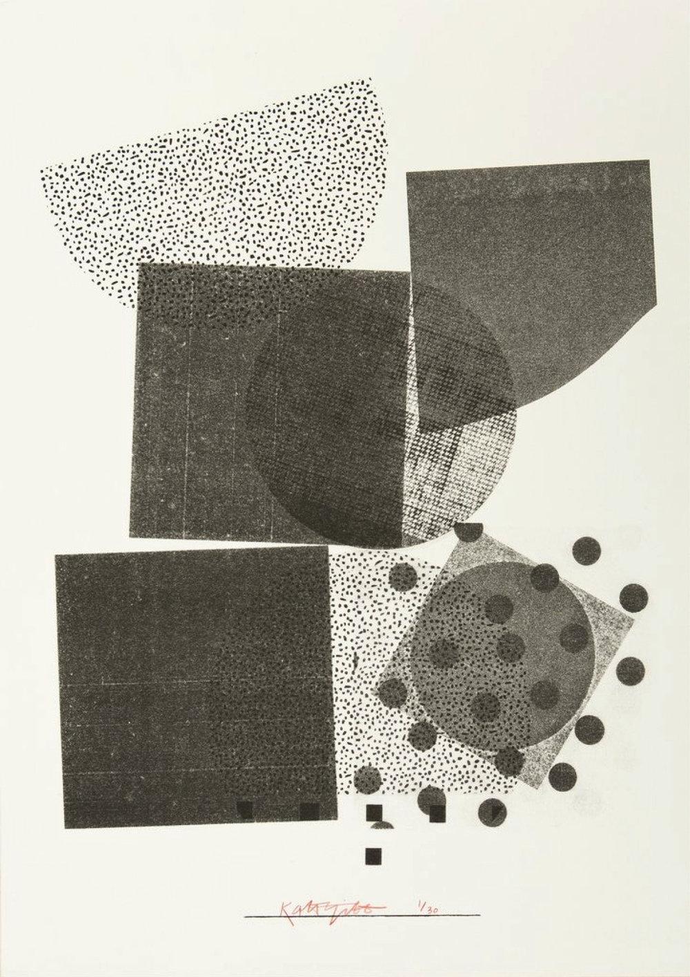 Kate Gibb #5, £50 (Signed & Numbered)  —Kate Gibb, Yuck Print House