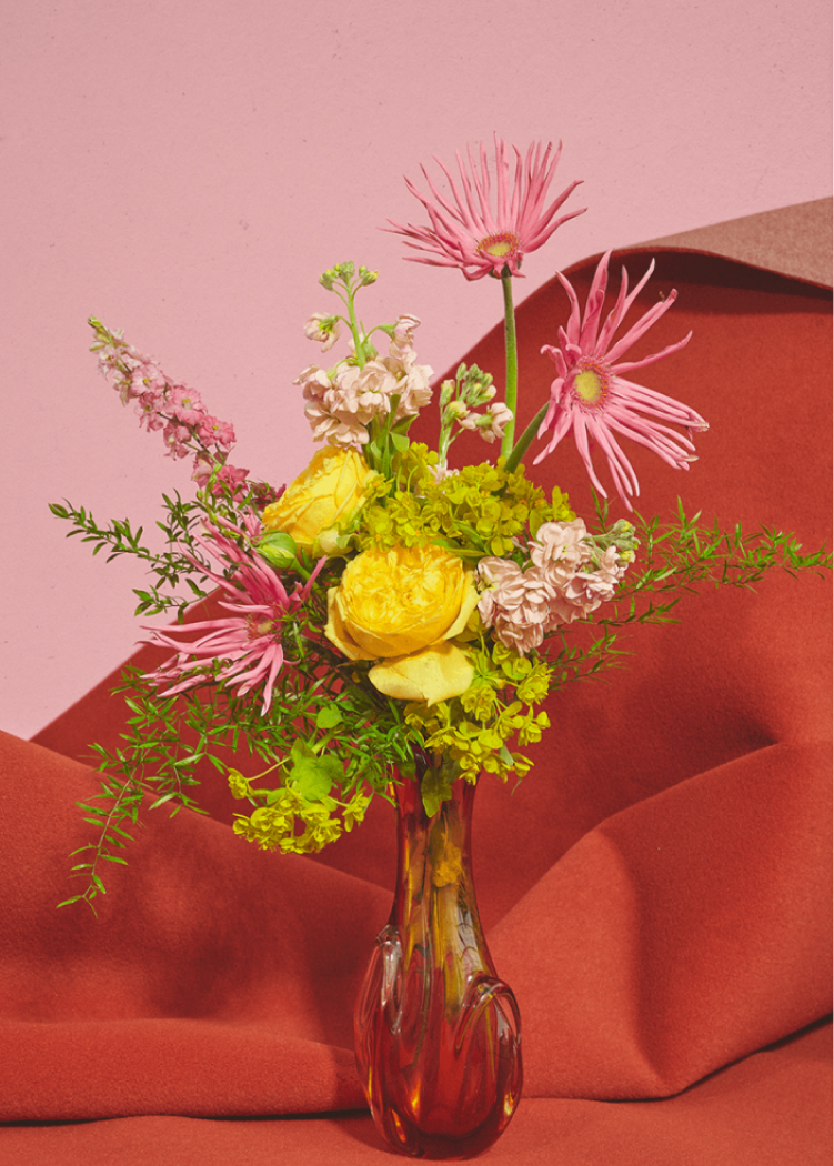 Blomst 07 / Pink-Red, €40  —Uffe Buchard, Paper Collective