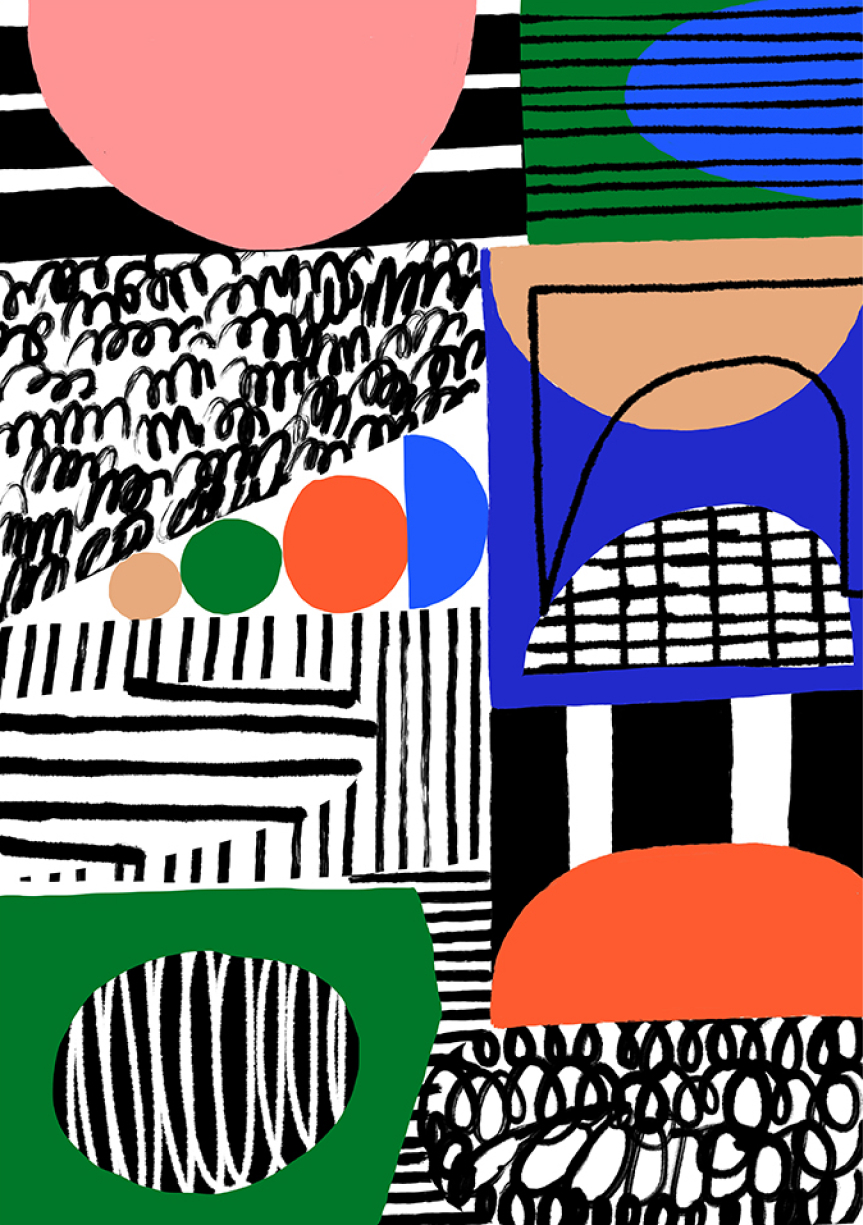 Collage No. 2, £50  —Marcello Velho, Good Day Club