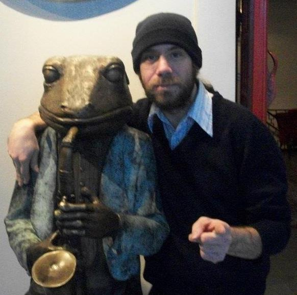 Musician, expert on Plant Medicine & fermentation, sound guy and Co Host,  Zack Kouns .