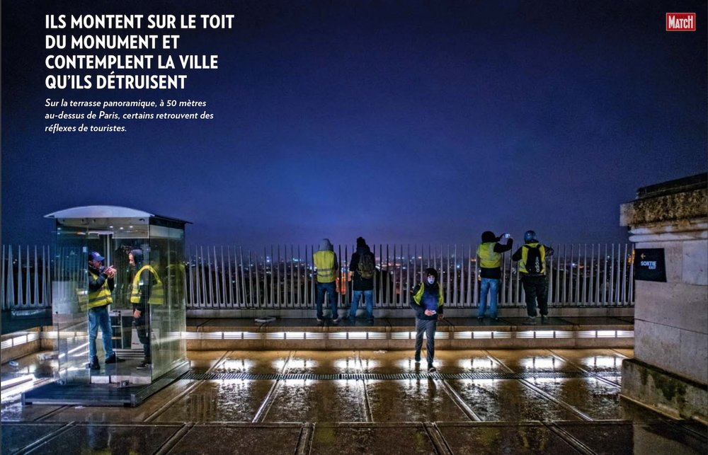 Paris Match #GiletsJaunes