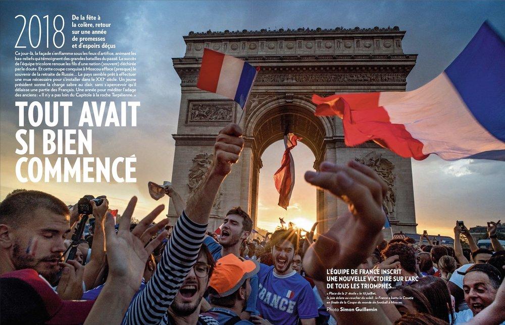 PARIS MATCH - numéro Retrospectif 2018