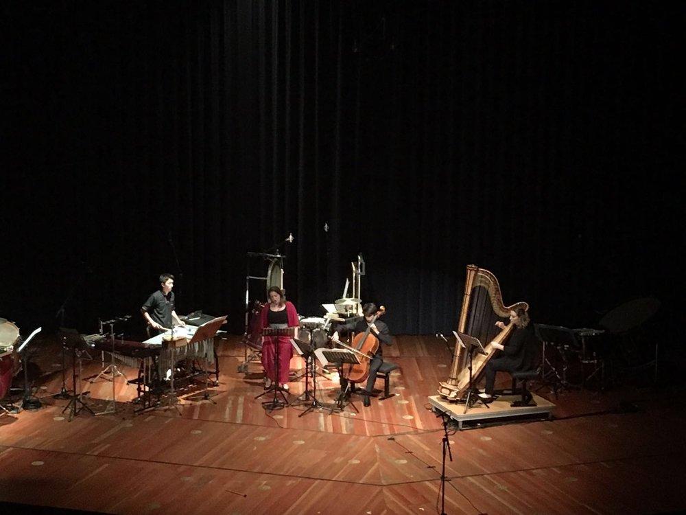 WAQAY ÑAWI (sopr., cello, harp, perc.)