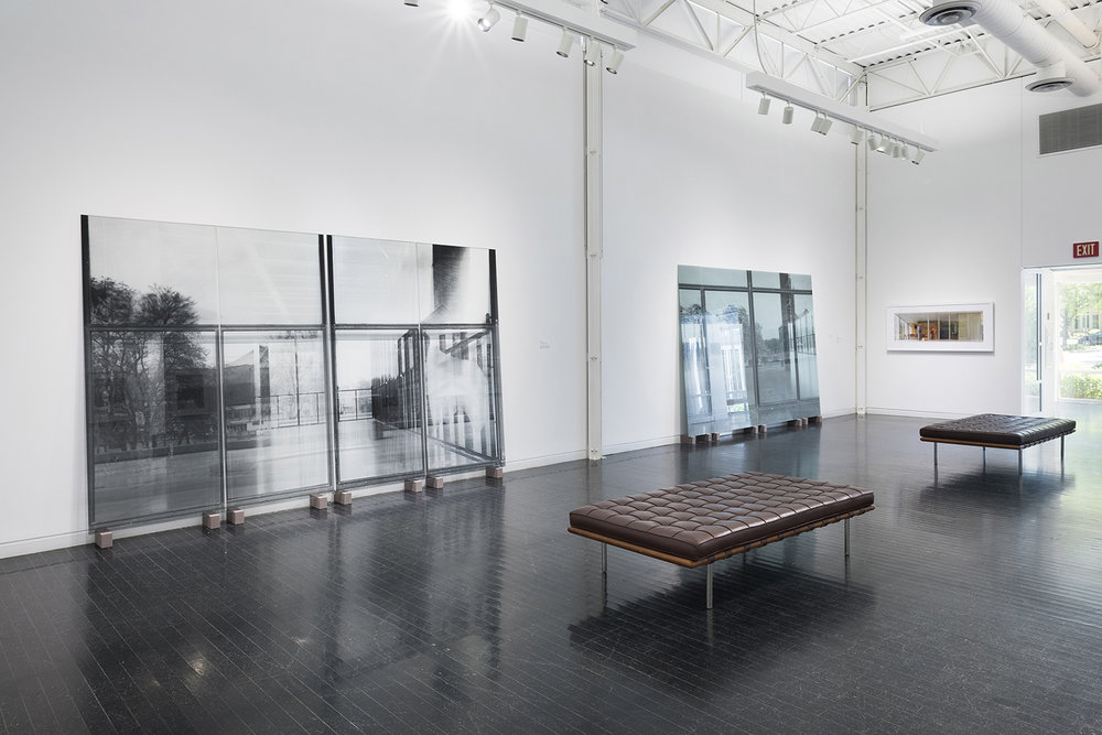 Veronika Kellndorfer, installation view, Mies's McCormick House Revealed: New Views , Elmhurst Art Museum, Elmhurst, IL, 2018.Photograph: James Prinz