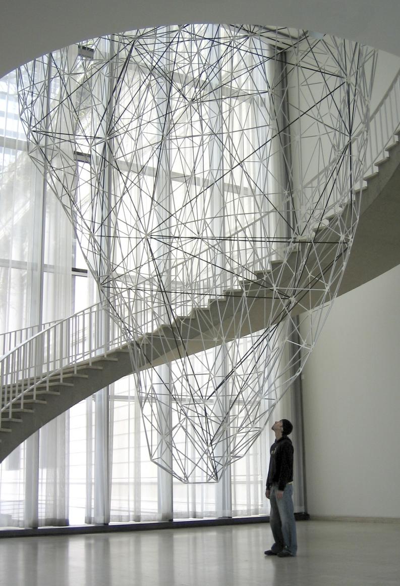 Iñigo Manglano-Ovalle, Iceberg r11i01 , 2005, installation view, Art Institute of Chicago