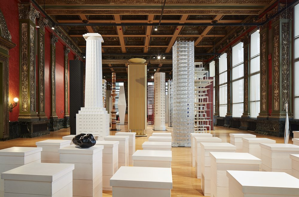 Iñigo Manglano-Ovalle, installation view, Chicago Architecture Biennial, 2017. Photo: Steve Hall