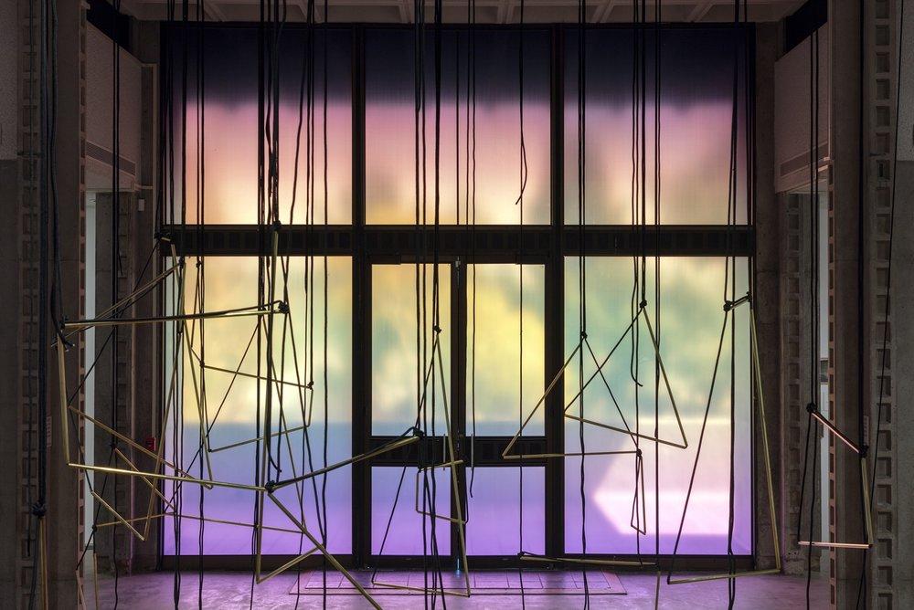 Lucia Koch, The Doors , Los Angeles Municipal Art Gallery, Los Angeles, CA, 2017. Photo: Panic Studio LA