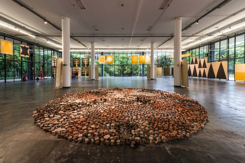 Antonio Ballester Moreno:  sentido/comum ( common/sense), exhibition view, São Paulo Bienal, Brazil, 2018. Image: Pedro Ivo Trasferetti