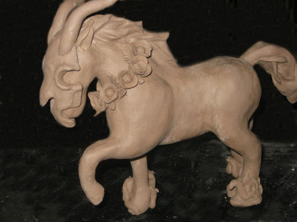 Pale Horse (Side View)