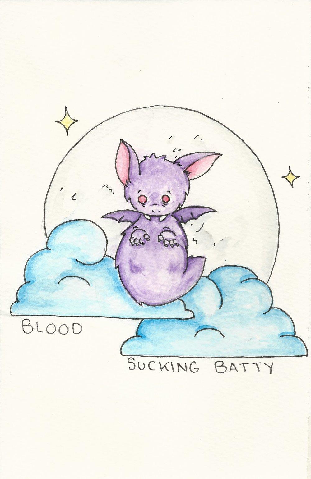 Blood Sucking Batty