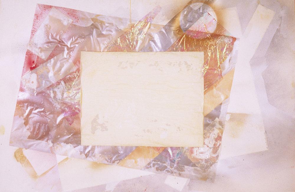 "Ode to Popova   Acrylic on Paper  40"" x 60"""