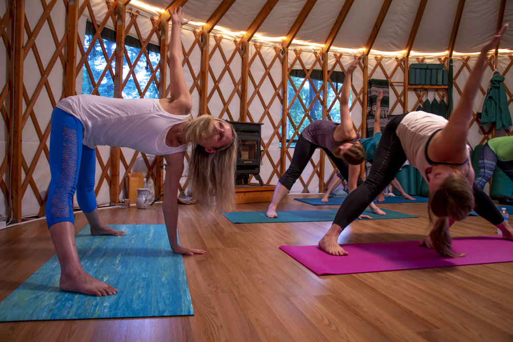 Flow Yoga - This yoga class focuses on various asana's for total body strengthening, flexibility and balance.
