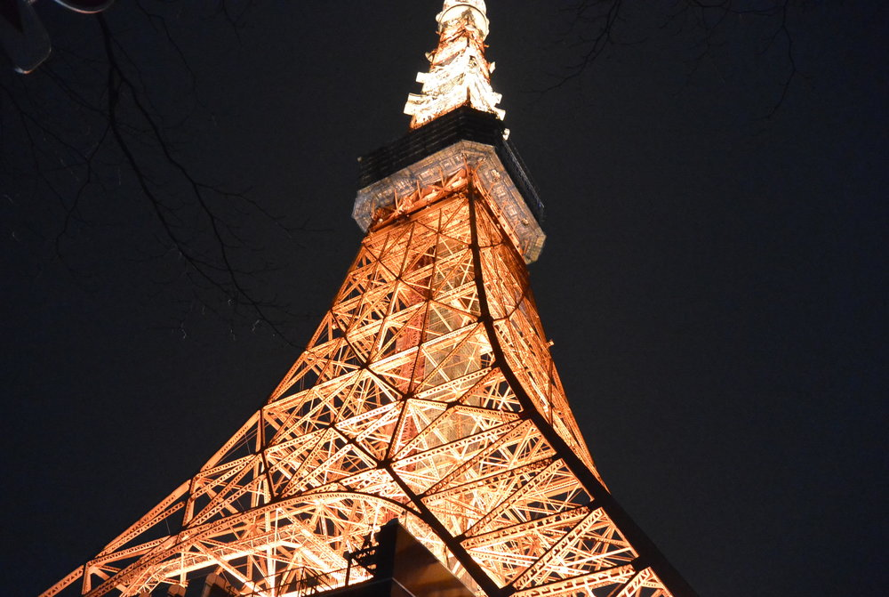 DAY 1-2: Tokyo Tower