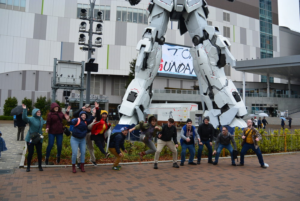 Day 8: Gundam and Ikebukuro