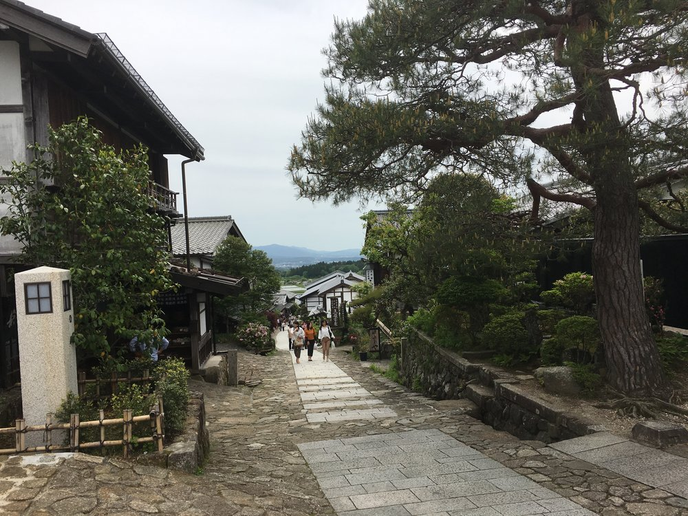 Day 7: The Nakasendo Up Close