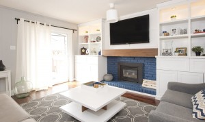 Family Room- Love Nest Designs - London, Ontario