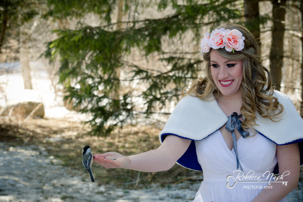 Snow White Inspired Bridal Portait Session - London Photographer Rebecca Nash Photography (1 of 9) (1)