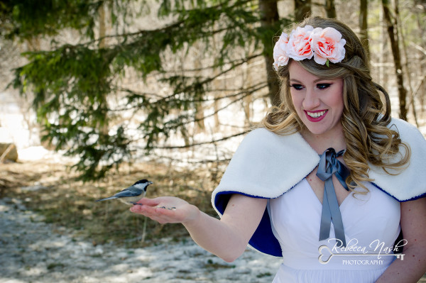 Snow White Inspired Bridal Portait Session - London Photographer Rebecca Nash Photography (1 of 9) (3)