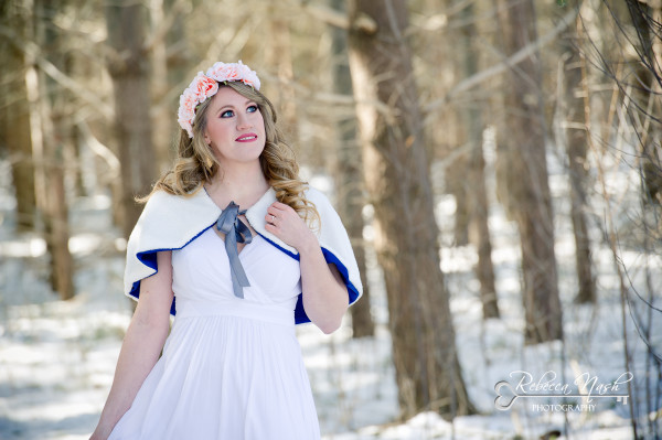 Snow White Inspired Bridal Portait Session - London Photographer Rebecca Nash Photography (1 of 9) (7)