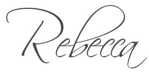 Rebecca Blog Signature