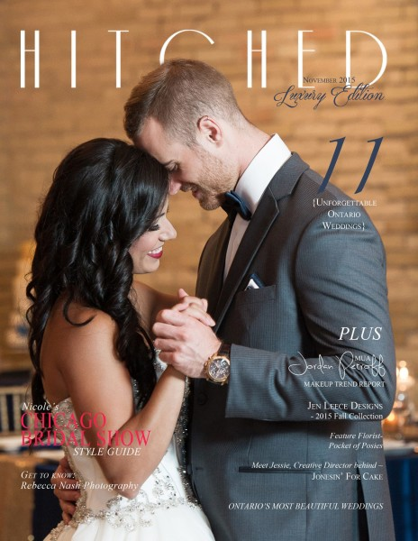 Hitched Bridal Magazine Novemeber Luxury Edition