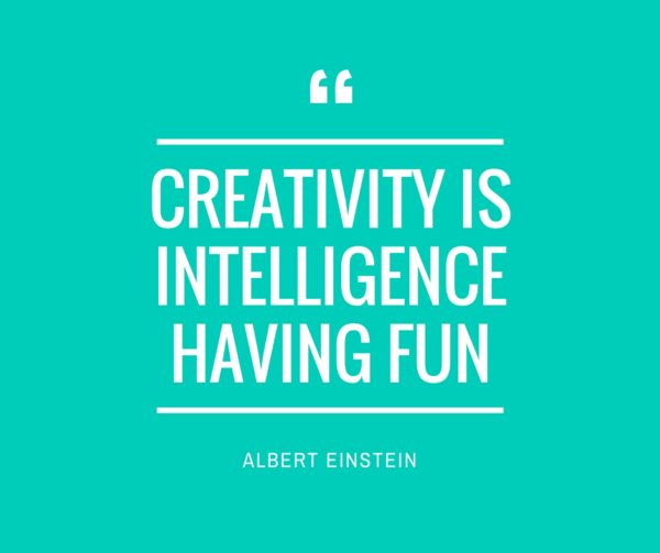 Quote - Creativity Albert Einstein