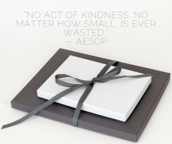 No Act Of Kindness No Matter How Small is Ever Wasted