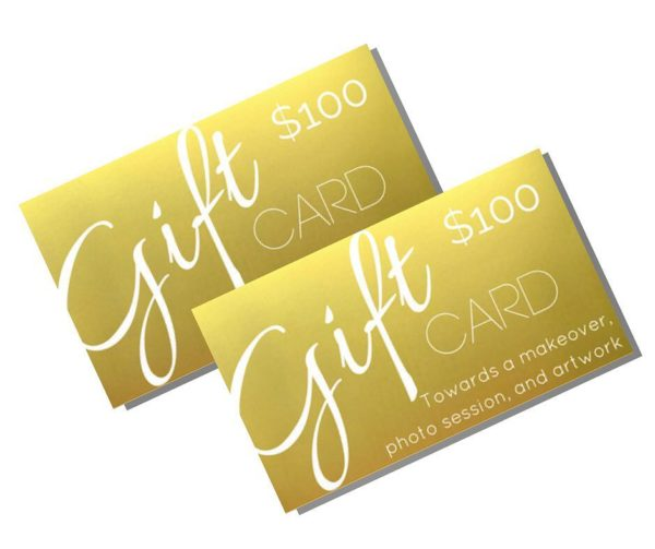 Gold Gift Card's $100