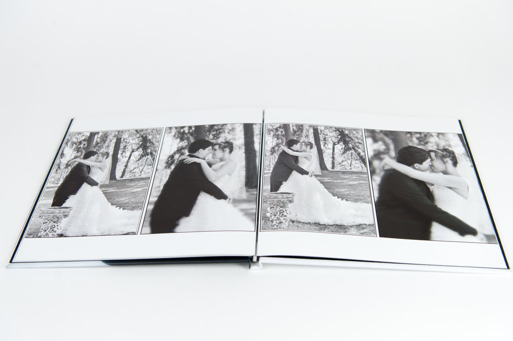 Classic Linen Wedding Book - Starting at $1,500
