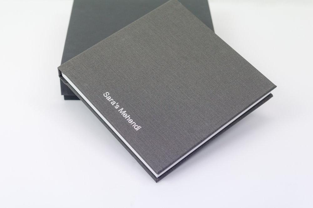Classic Linen Wedding Book - Starting at $1,500