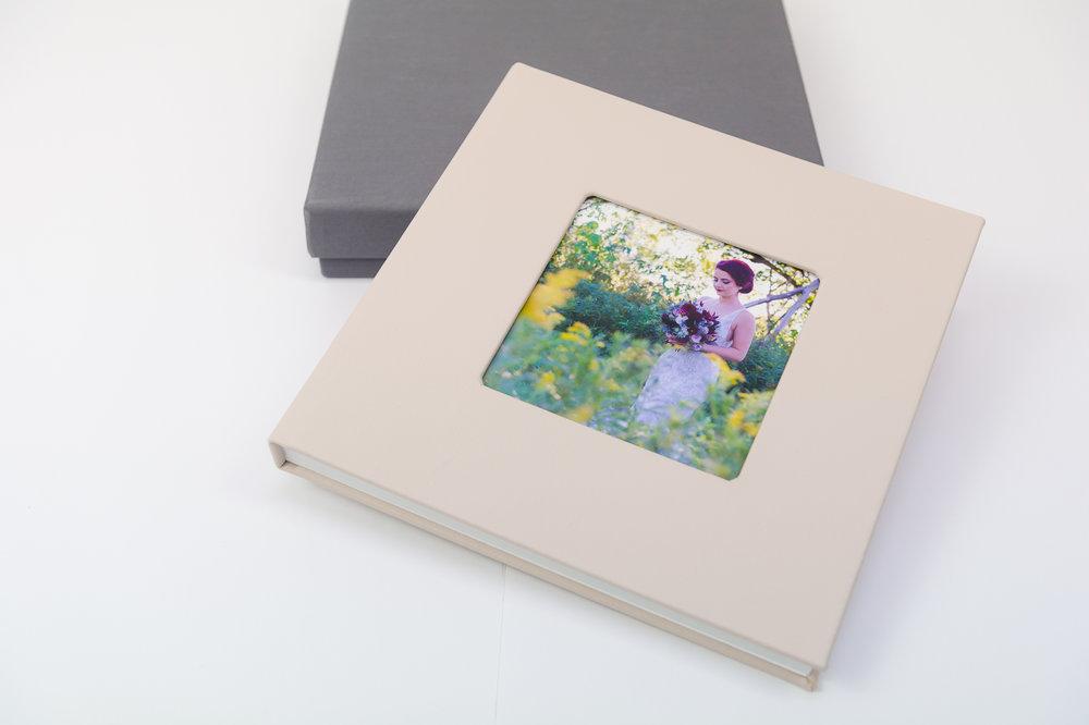 Contemporary Wedding Album - Starting at $2,500