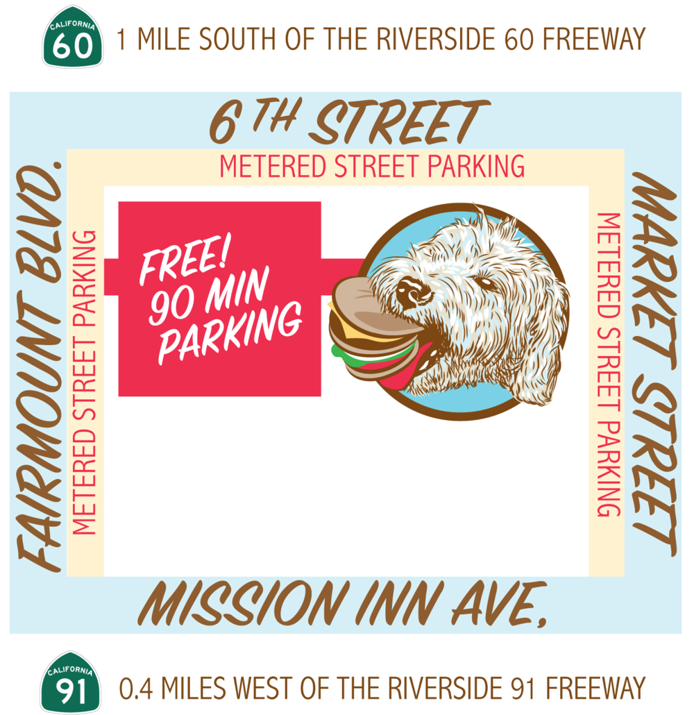 Illustrated Map of MGB Riverside Food Lab Location