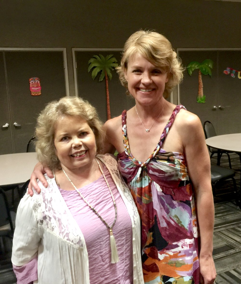 Lori Hartwell and I at the Patient Education Seminar on September 15th, 2018.