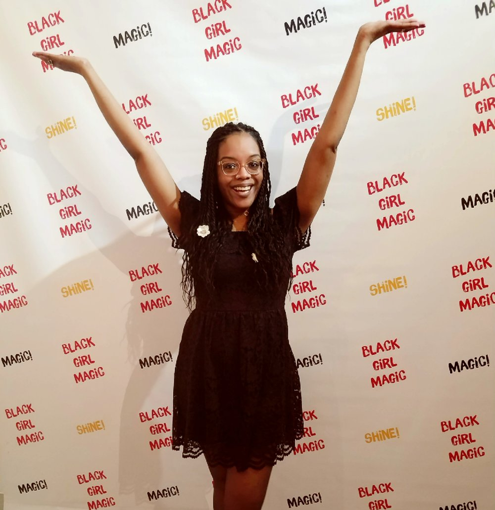 Black Girl Magic Ball