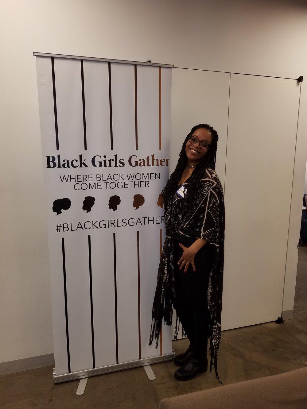 Volunteering at #BlackGirlsGather