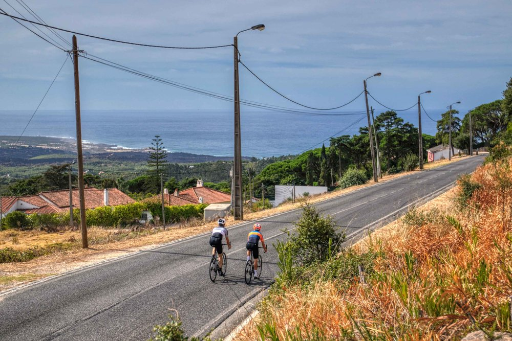 COMBO PACK 250€ - Min. of 2 riders. Pick 3 SINGLE TOURS from SINTRA, ERICEIRA, ARRÁBIDA or MAFRA TOURS. Add 50€ for a BMC rental bike, 10€ for POC helmet. Hotel transfer from Lisbon, Sintra or Cascais always included.