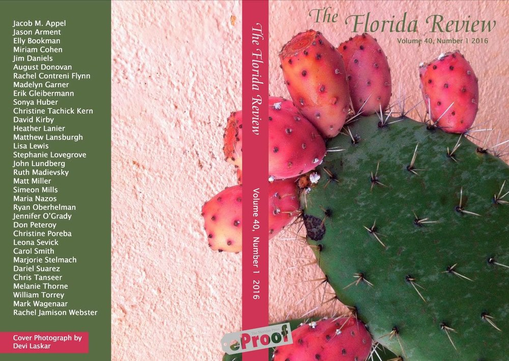 Florida Review - 2016 Cover