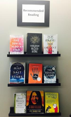 Mrs. Janovitz's Recommended Reading Shelves