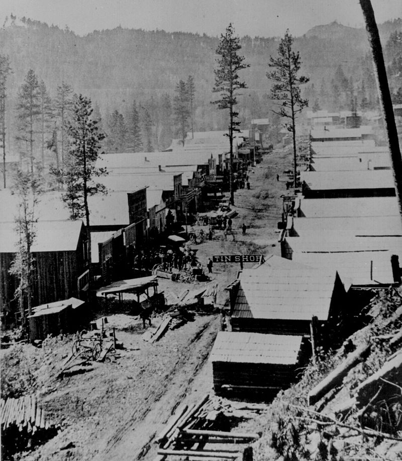 Deadwood circa 1976. Photo courtesy of US National Archives and Records Administration.