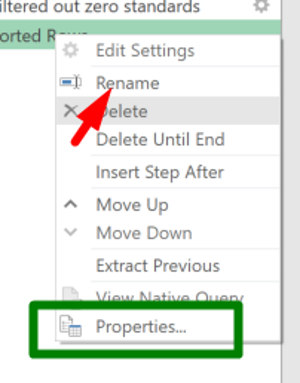 If Rename is grayed out, select Properties…