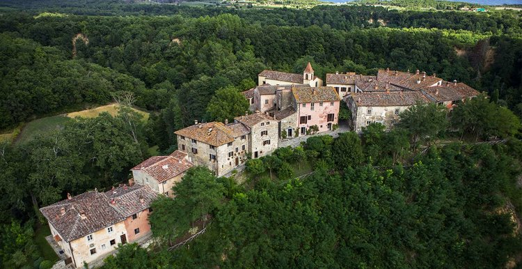 Village In Tuscany Italy.jpg