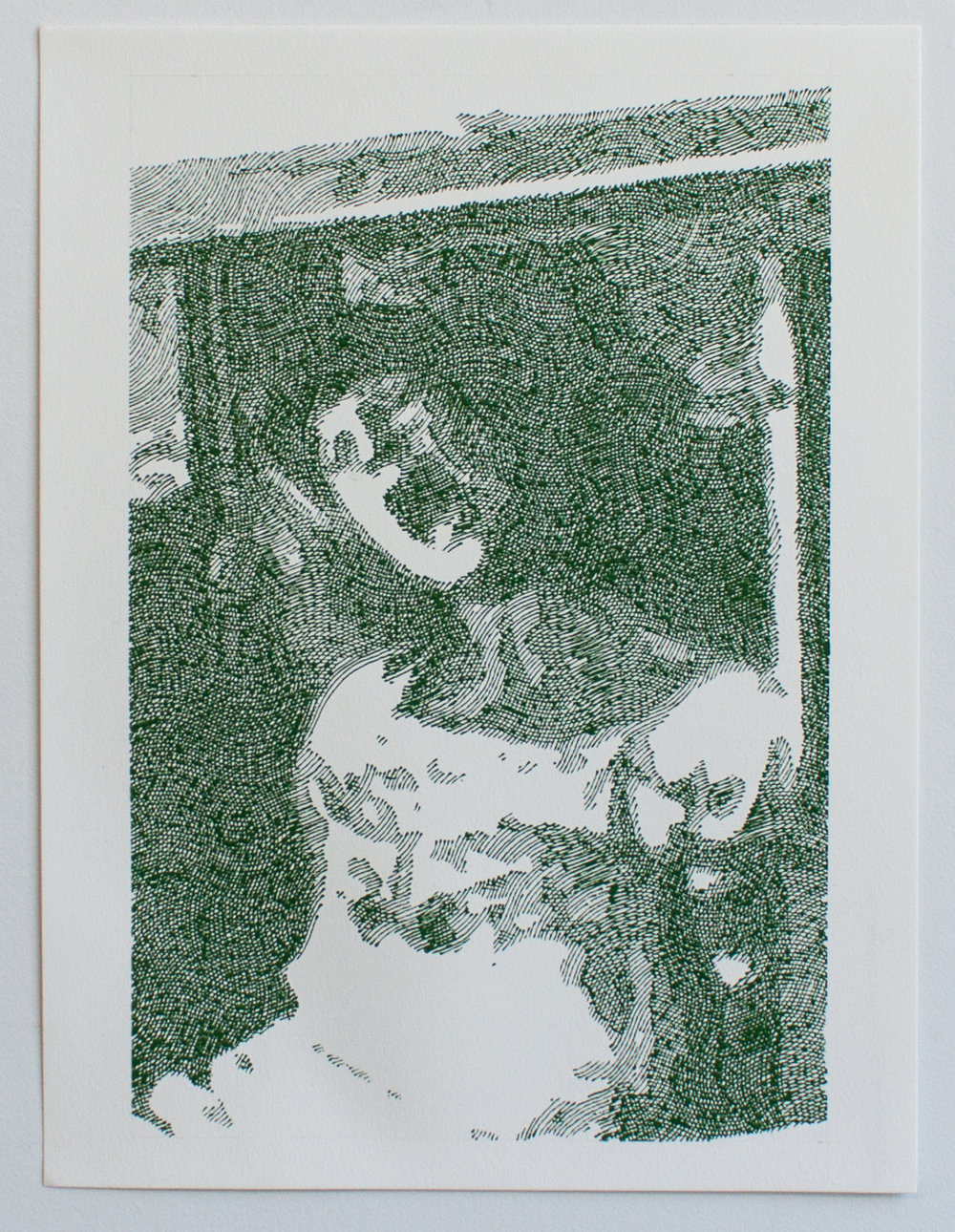 Same in Kansas 2, enamel on paper