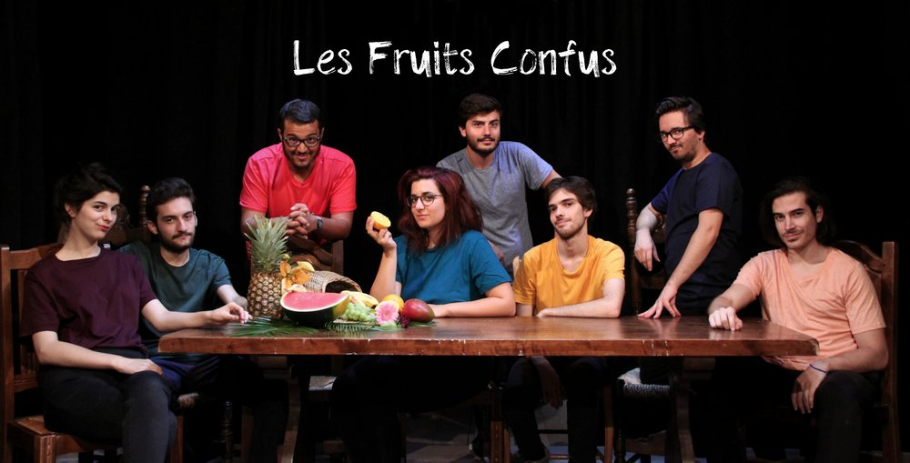 Les Fruits Confus(FR) - Les Fruits Confus is a brand new company gathering improvisers from Bordeaux, France. In their show