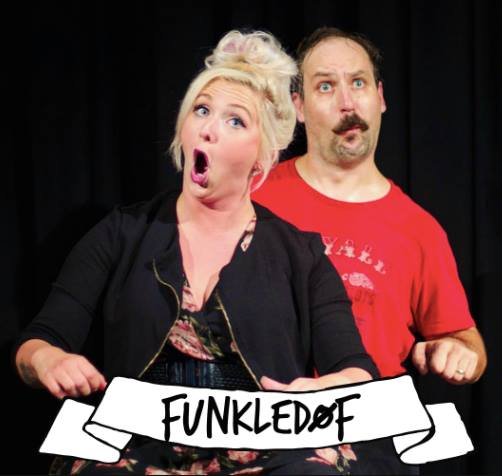 The Funkeldoofs(US) - The legendary musical duo is back in Oslo! Witness Craig Uhlir and Stacey Smith improvise songs, stories and characters that will make you laugh and roll off your chair
